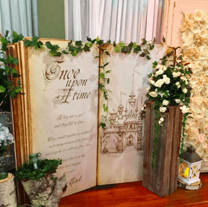 Backdrop 150cm Once Upon A Time Melbourne Hire