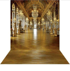 Arch Hire - 3D Photo Background & Stand Hall Of Mirrors Versailles Event Australian Hire