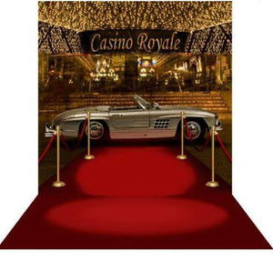 Arch Hire - 3D Photo Background & Stand James Bond Casino Night Australian Hire