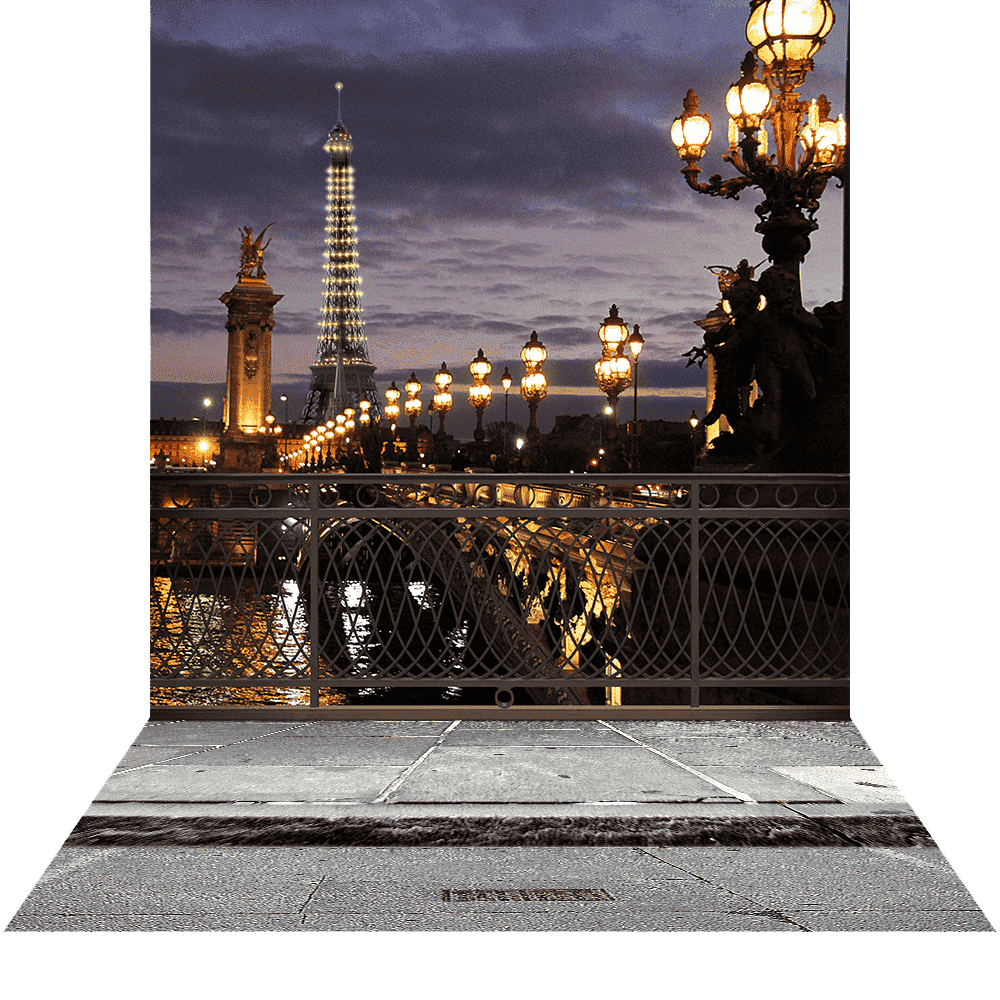 3d Photo Background Amp Stand Romantic Paris Escape