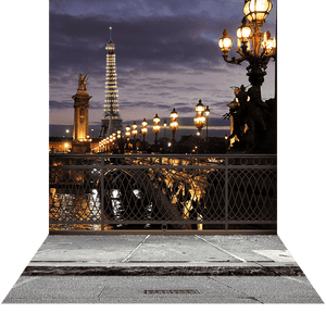 Arch Hire - 3D Photo Background & Stand Romantic Paris Escape Australian Hire