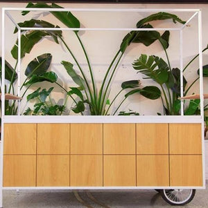Bar Carts & Accessories Hire - Drinks Refreshments Cart 220cm Melbourne Hire