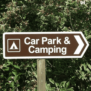 Event Signage - Personalised Aluminium Outdoor Event Festival Market Directional Sign