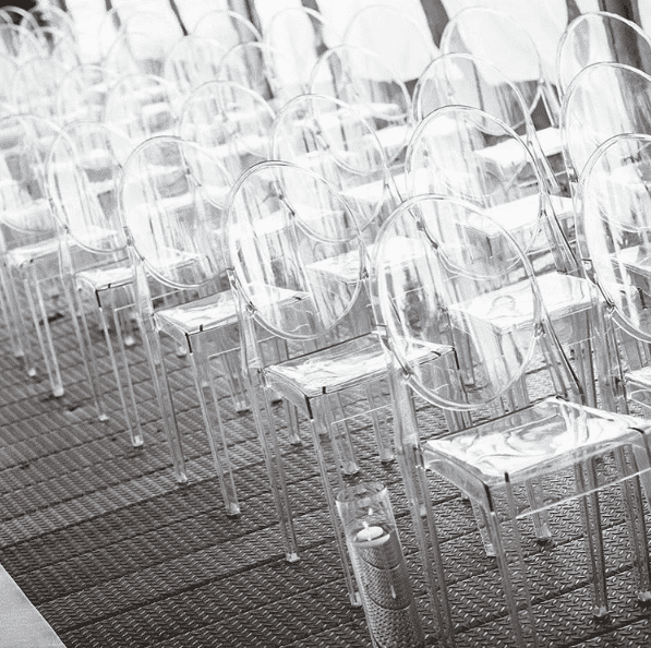 Chair victoria ghost clear seating melbourne hire