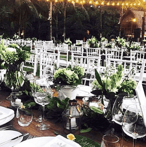 Furniture Hire - Chair White Tiffany Chiavari Event Venue Guest Seating Melbourne Hire