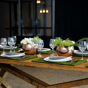 Furniture Hire - Table 250cm Rustic Dining 8-10 Guests Melbourne Hire