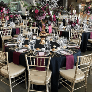 Chair Tiffany Chiavari Gold Seating Melbourne Hire