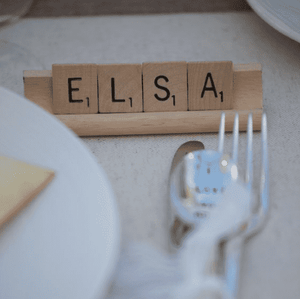 Guest Favours - Guest Favour 1000 Scrabble Tiles 50 Racks 50 Guests