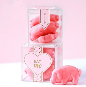 Guest Favours - Guest Favour Mini Clear Acrylic Gift Box Set Of 200