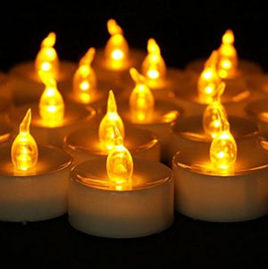 Lantern & Lighting Hire - Candle LED Tealights Set Of 60 Australian Hire