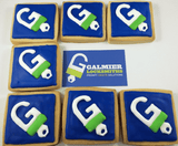 Lolly Buffet - Customised Corporate Logo Gingerbread Biscuits Melbourne Delivery Set Of 24