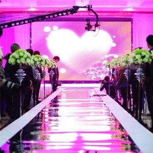Props & Details - Aisle Runner Mirror Red Carpet Alternative 10m Roll