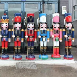 Props & Details - Christmas Nutcracker 180cm Soldiers Set Of 2 Melbourne Delivery