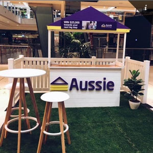Props Hire - Expo Standard Booth Stand Installation Service Melbourne Hire