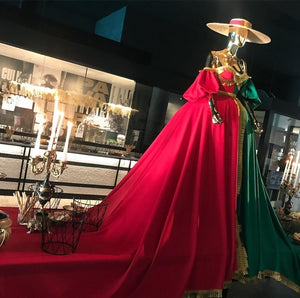 Props Hire - Mannequins Gold Female 177cm Trio Melbourne Hire