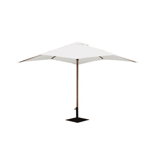 Props Hire - Market Umbrella 300cm White Outdoor Event Christmas Party Melbourne Hire