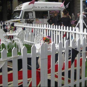 Props Hire - Picket Fence Astro Turf Outdoor Event 6m X 1m Package Melbourne Hire