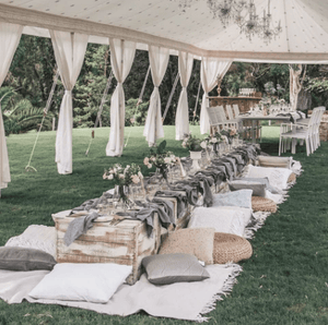 Garden Party Pavilions 100 Guests Melbourne Hire