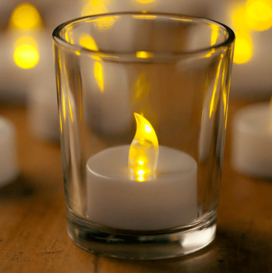 Candle LED Tealights Set of 60 Melbourne Hire