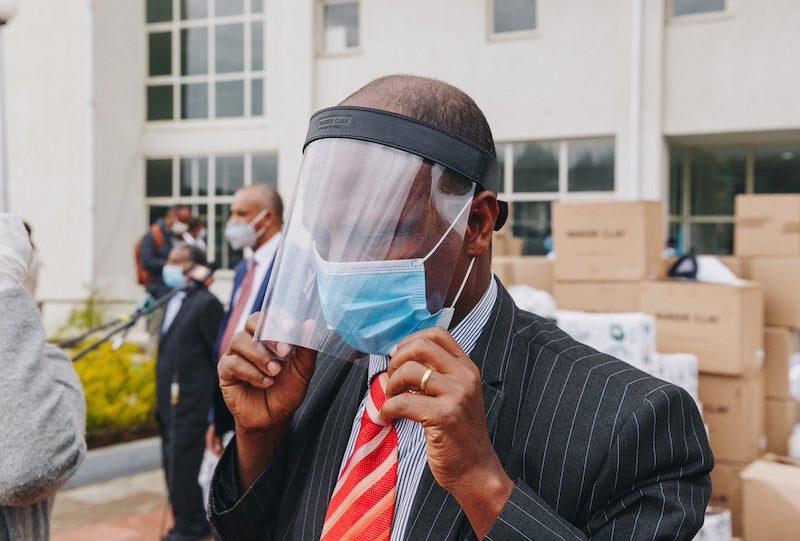 IMPACT // Giving Back Face Shields in Ethiopia