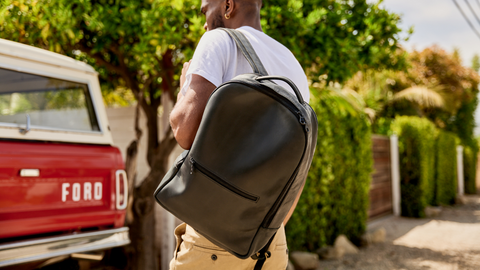 atlas leather backpack fathers day