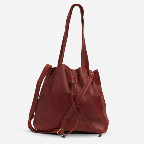 5a0815bc4d3b Emma Bucket Bag - Clay Red — Regular price  218