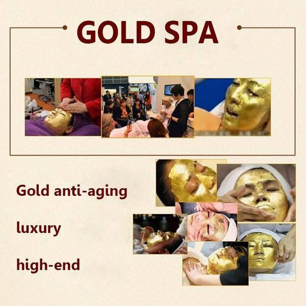 24K Anti Wrinkle Golden Mask