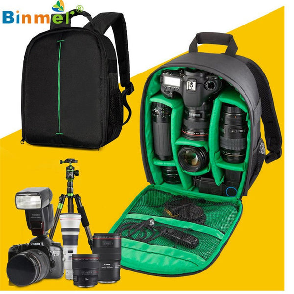 Premium DSLR Camera Bag w/ FREE Rain Cover