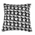 WEAVE SQUARE / Black on White