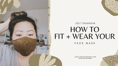 How To Fit + Wear Your Lōliʻi Face Mask