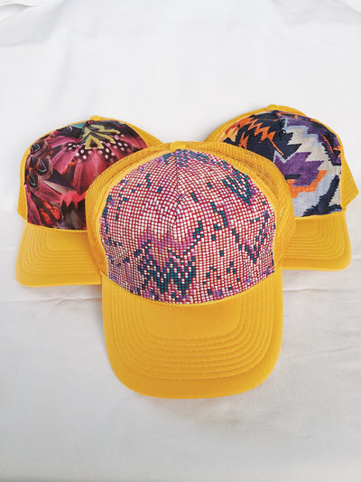 Gold Trucker Hat