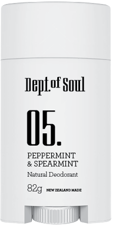 Peppermint & Spearmint Deodorant Stick