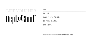 Dept. of Soul Gift Card