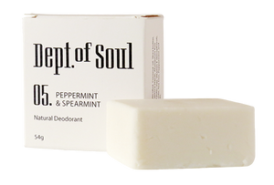 Peppermint & Spearmint Deodorant Bar