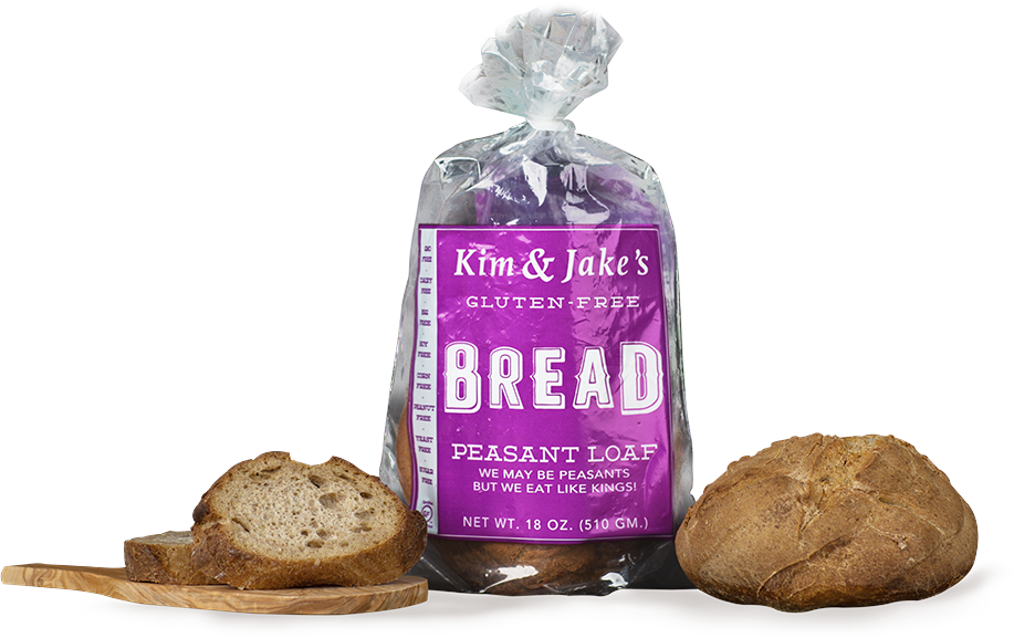 Kim and Jake's - Peasant Loaf Bread