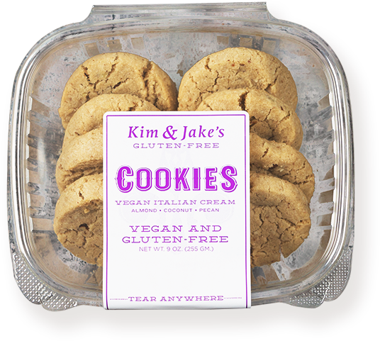 Kim and Jake's - Vegan Italian Cream Cookies