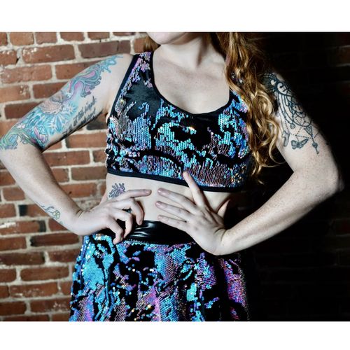 Velvet Mystical Sequin 2 Piece
