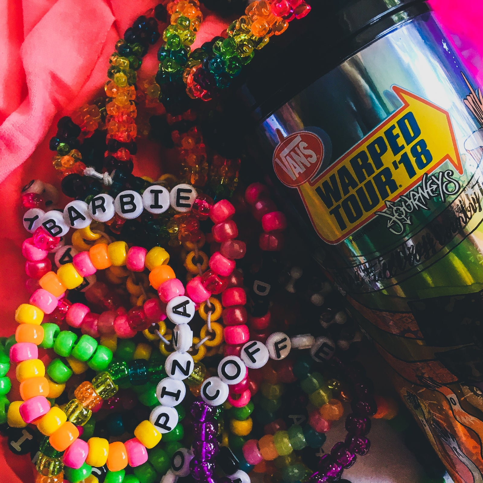 5 Rave Bracelets for $10 - KANDI!!!