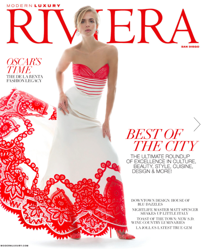 boutonné feature in riviera magazine