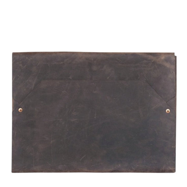 envelope laptop case | 15 inch | chocolate
