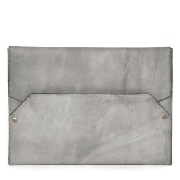 envelope laptop case | 15 inch | grey
