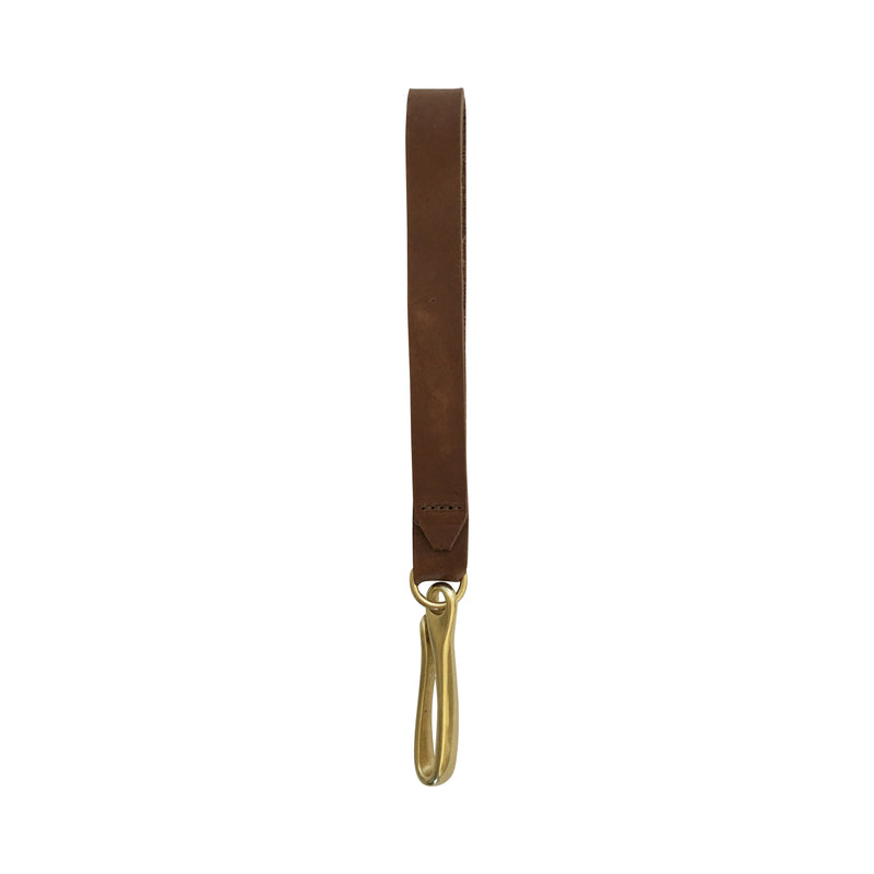 key fob | brown