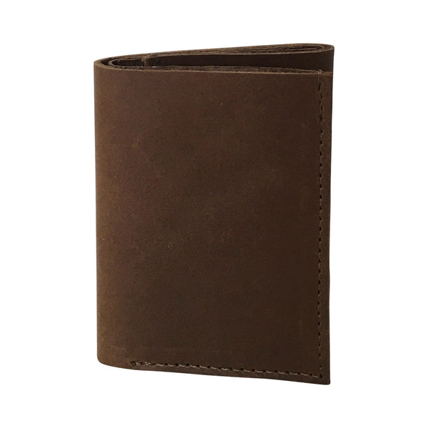 bp tri-fold wallet | brown