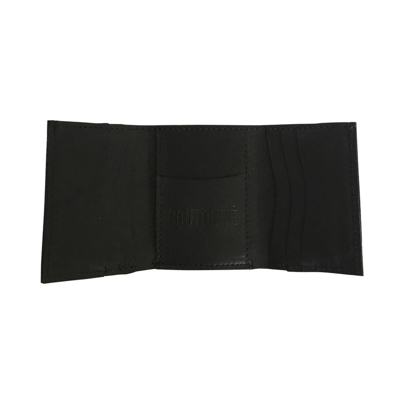 bp tri-fold wallet | black