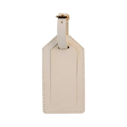 luggage tag | beige