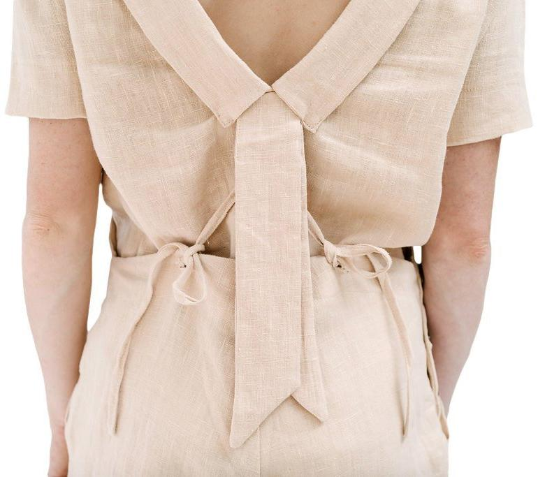 claudette the one blouse | peony linen