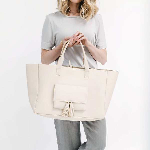 margaret carry all tote | beige