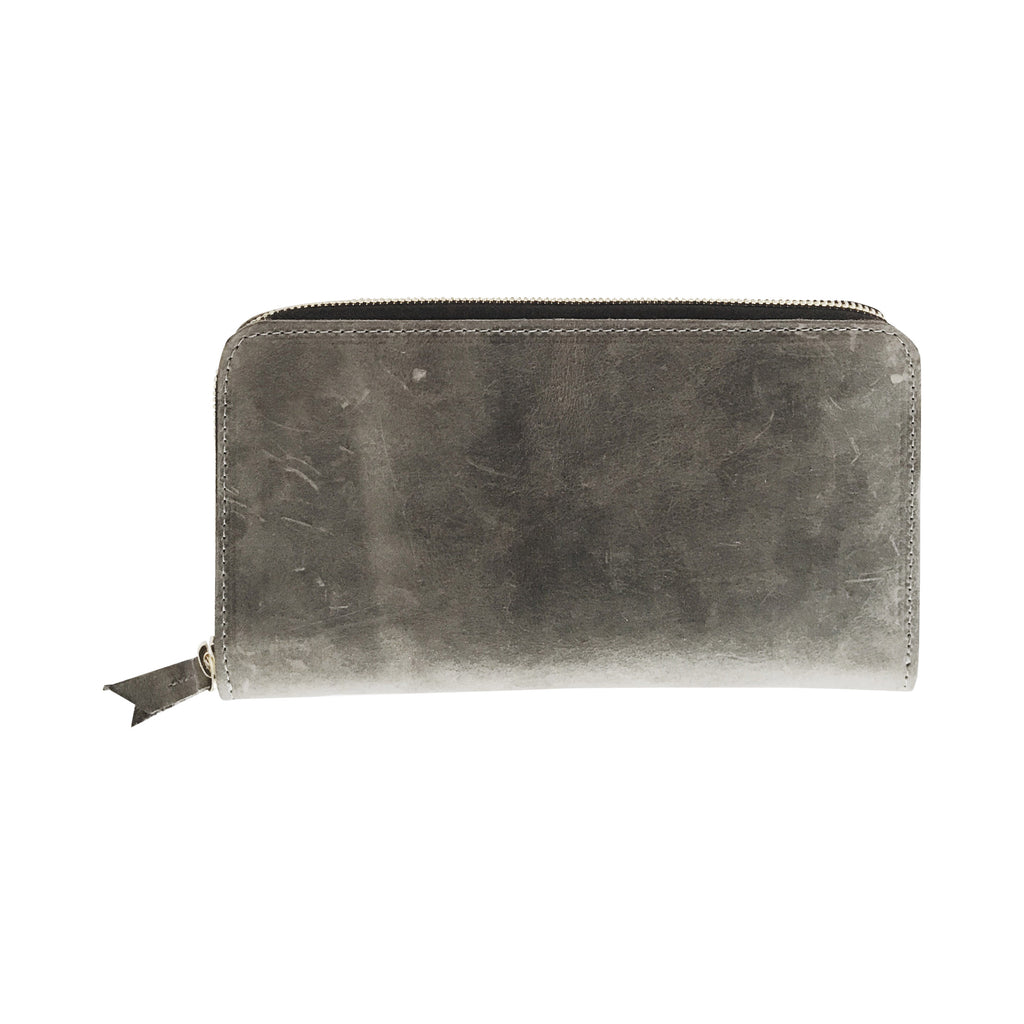 grande zippy wallet | grey