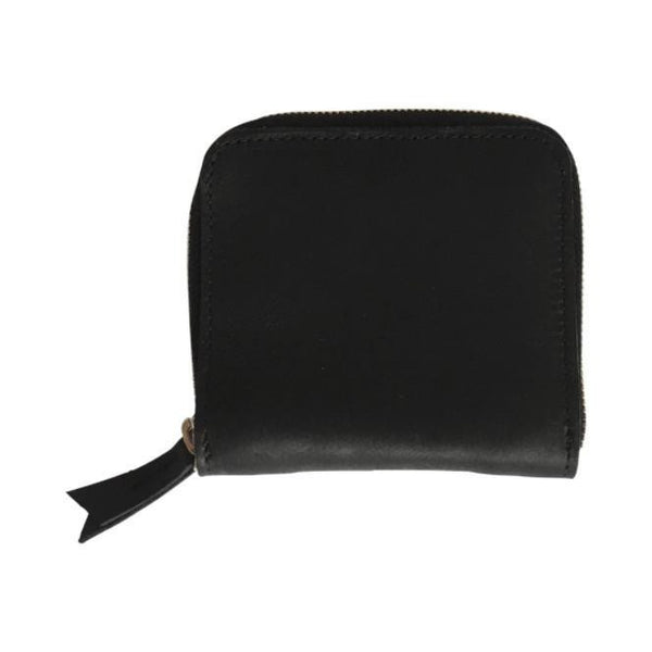 petite zippy wallet | black
