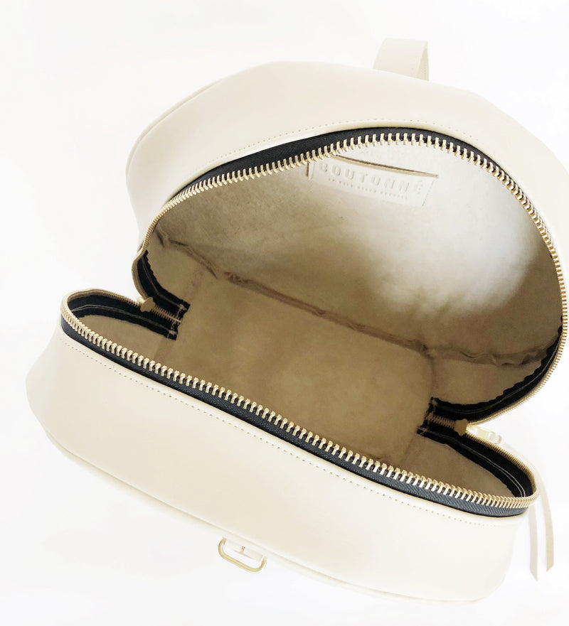 grande hat box | beige